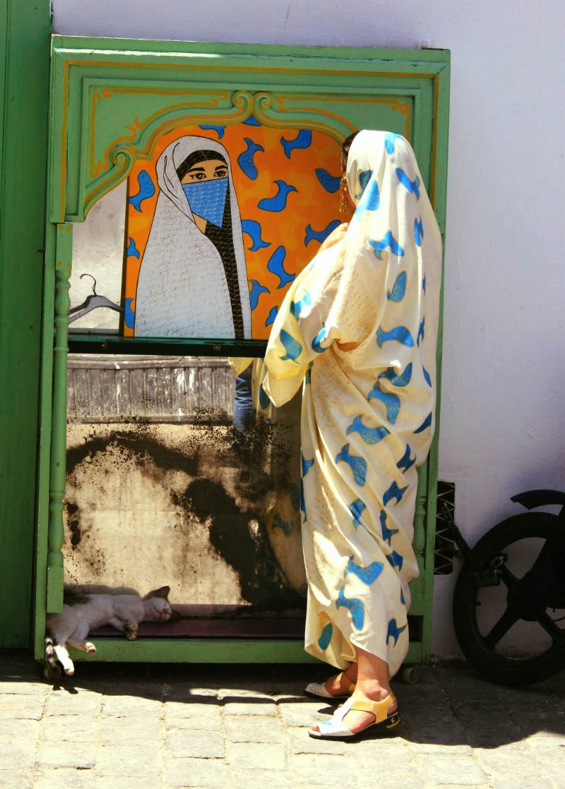 How females dress in the south of Morocco
